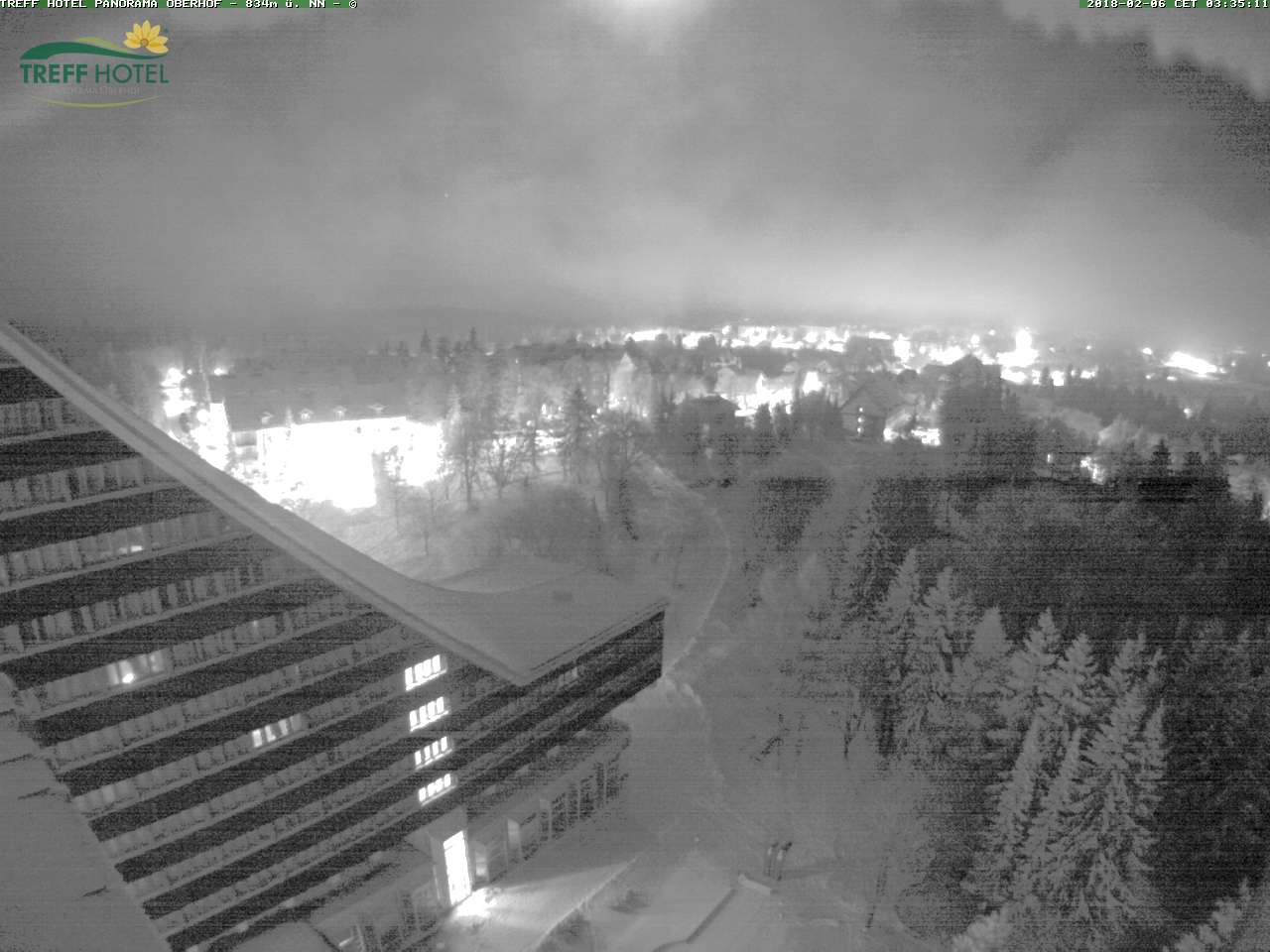 Webcam Treff Hotel Panorama Oberhof